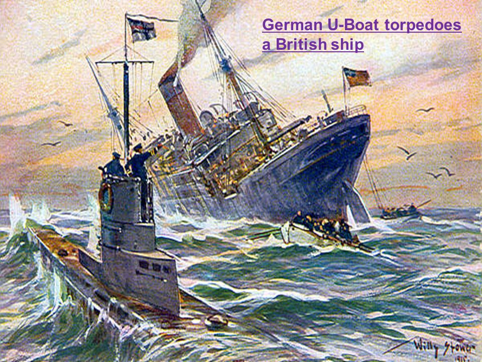 German U-Boat torpedoes