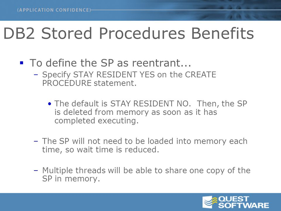 DB2 Stored Procedures and UDFs: A Primer - ppt download