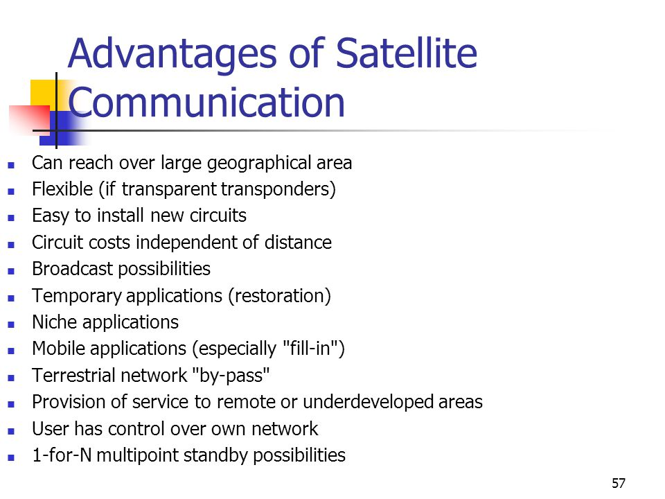 Satellite Communications - ppt download