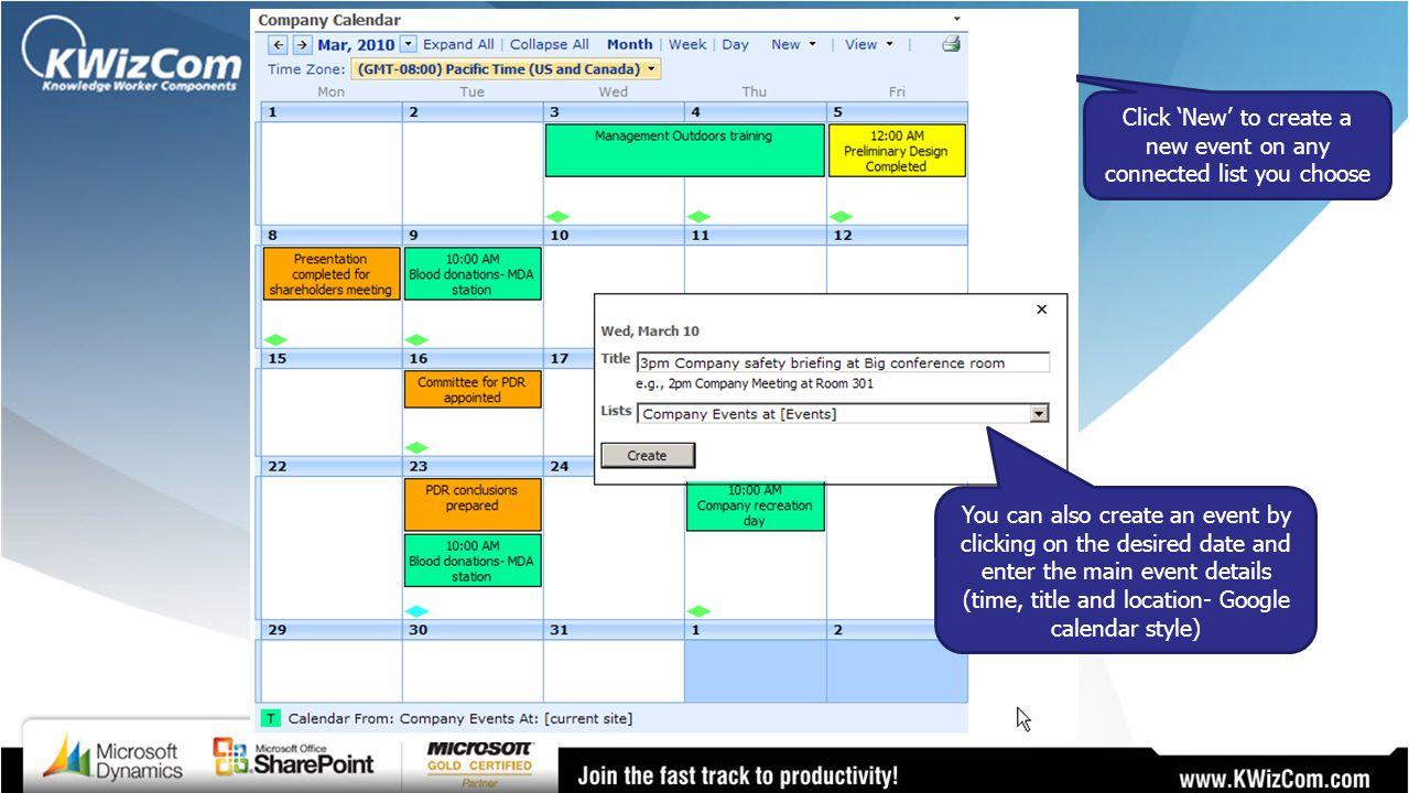 KWizCom SharePoint Calendar Plus - ppt video online download
