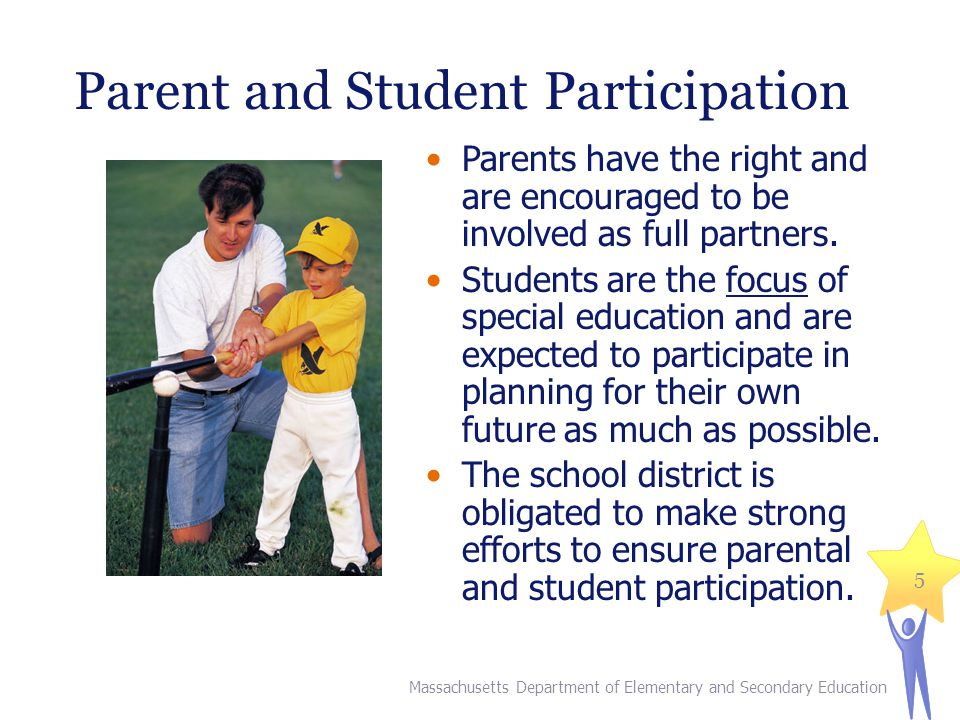 Parent and Student Participation