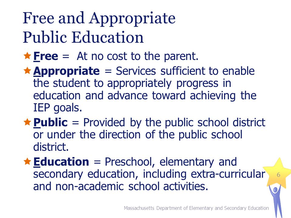 Free and Appropriate Public Education