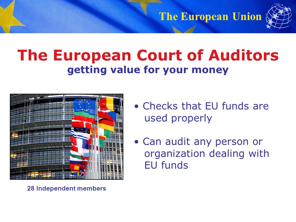 The European Court of Auditors getting value for your money