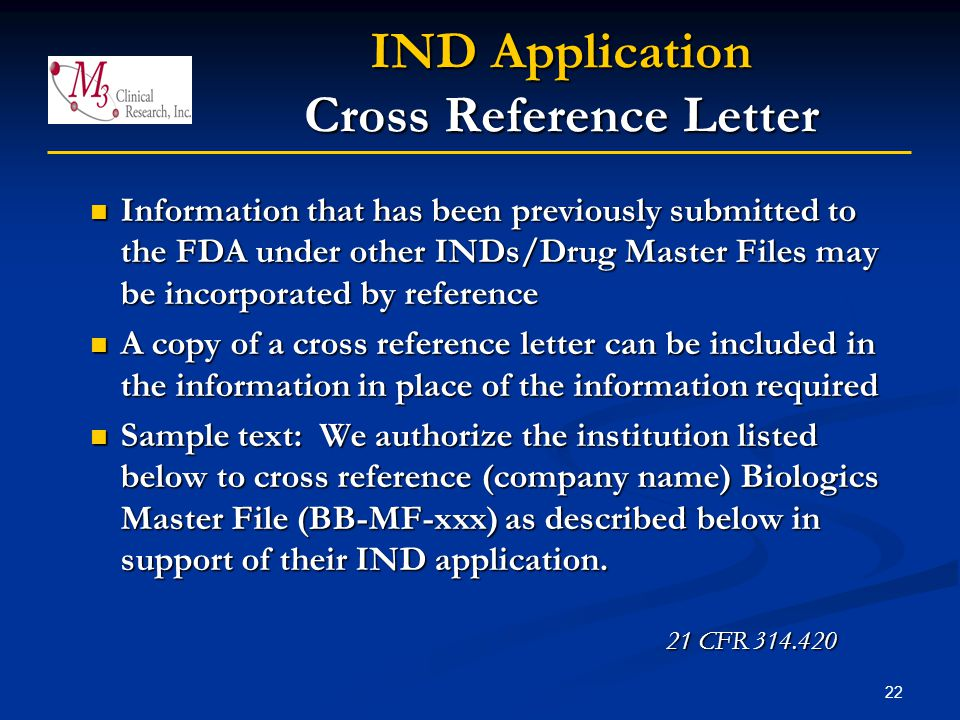 letters of recommendation the cross and the light the inds and ides responsibilities of sponsor investigators 294