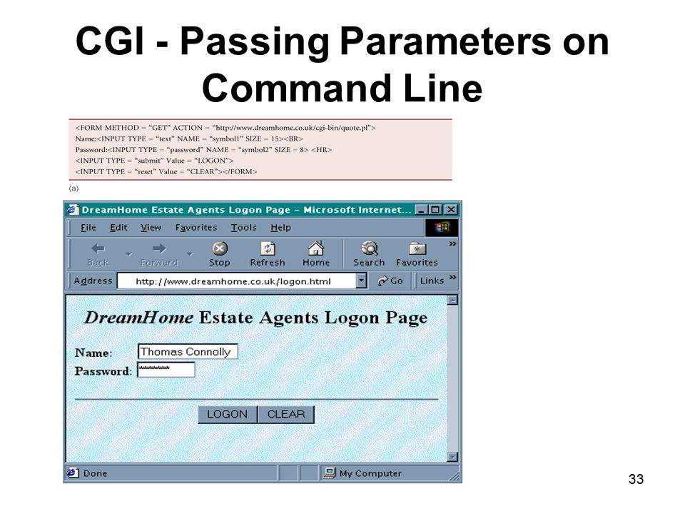 CGI - Passing Parameters on Command Line