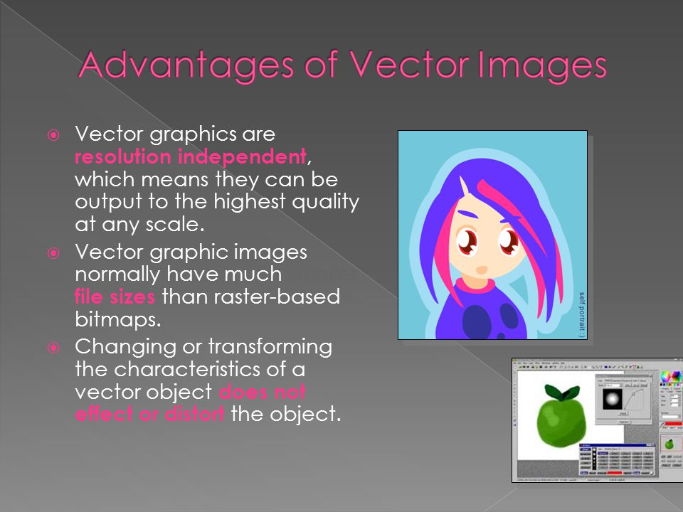 Advantages of Vector Images