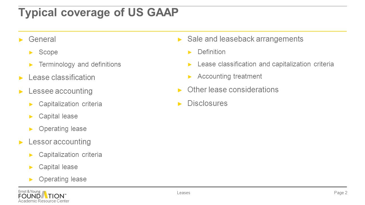 ias 17 - leases. - ppt download