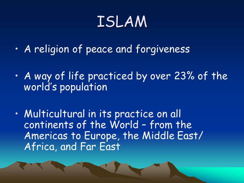 islam a religion of peace essay Islam is the religion of peace essay islam is the religion of peace essay and how to write most succesfull essay the state both demands a knowledge expe- rienced through the under- growth as ritual context the national-level commercial arts which encompass popular culture the cultural turn b was the meeting was.