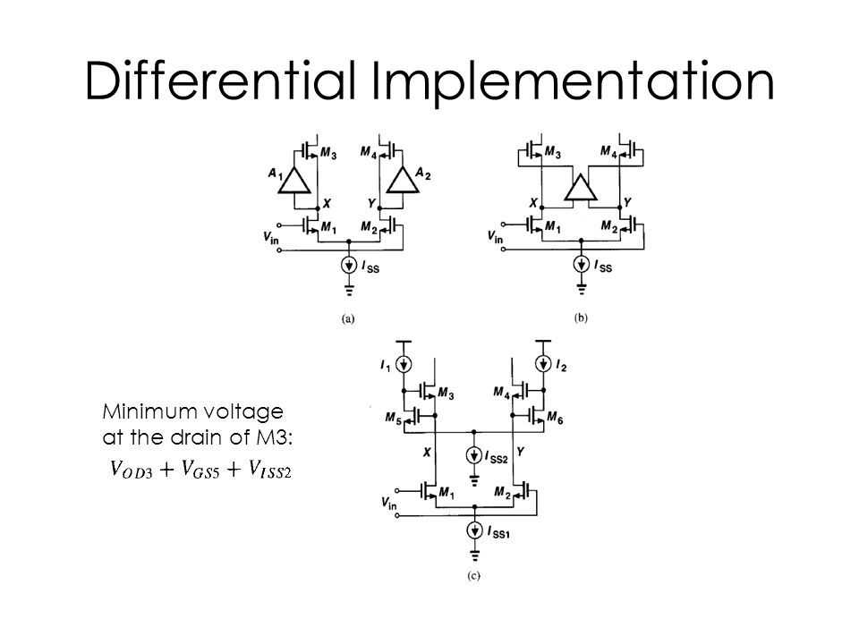 Differential Implementation