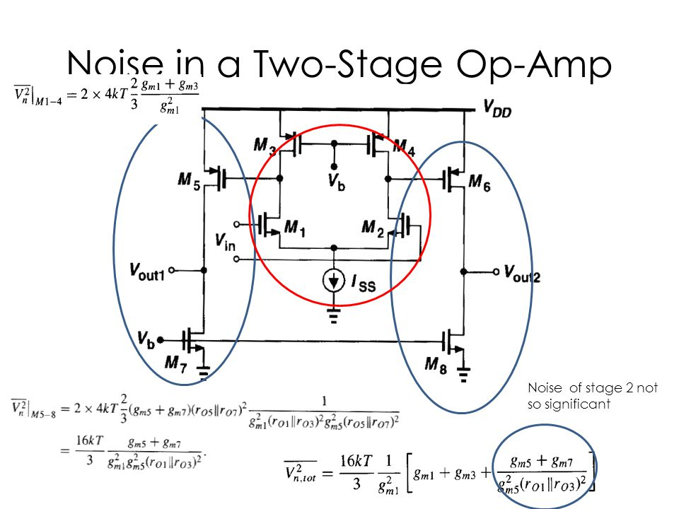 Noise in a Two-Stage Op-Amp