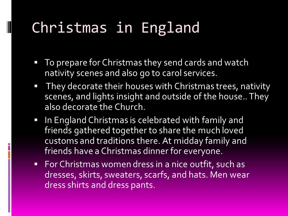 Christmas In England Traditions.Holidays How Do People In England Germany And Italy