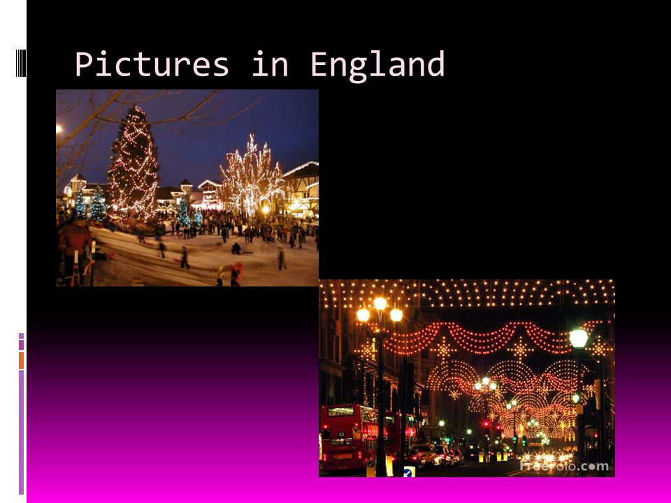 4 pictures in england - How Does England Celebrate Christmas