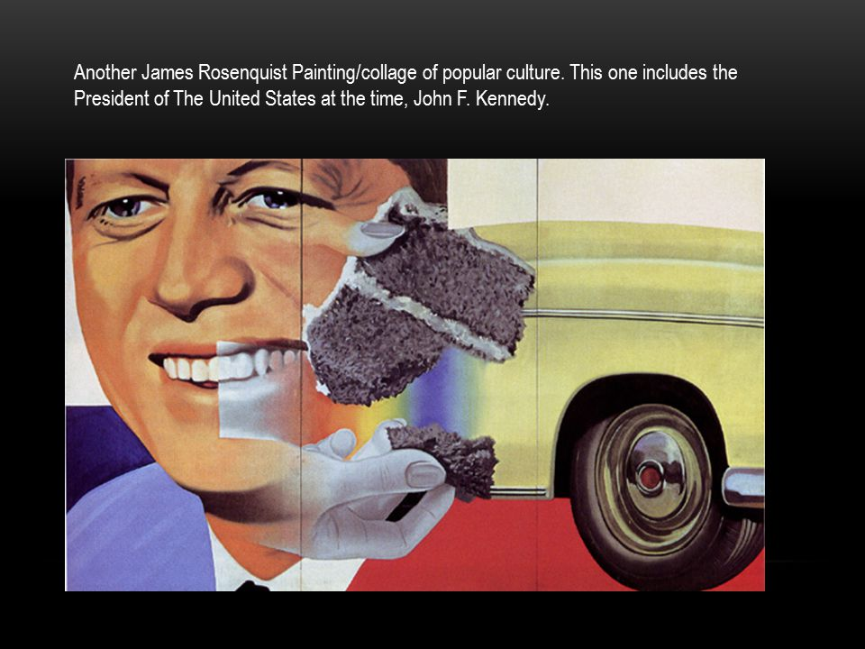 Another James Rosenquist Painting/collage of popular culture