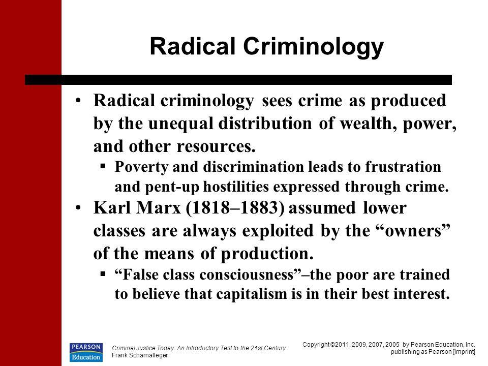 radical criminology definition