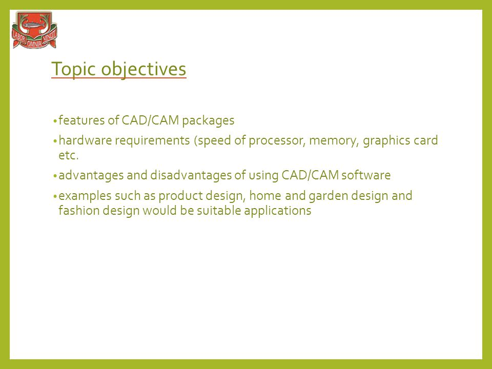 Cad And Cam Ict In Business Ppt Video Online Download