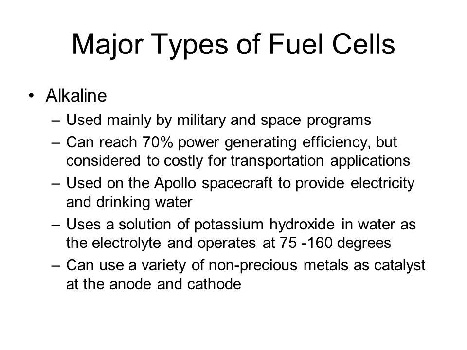 Hydrogen Fuel Cell Technology - ppt video online download