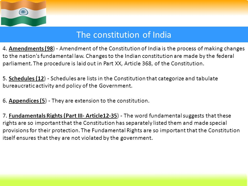 procedure to amend the constitution under article 368