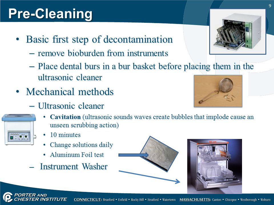 Instrument Processing Da 116 Infection Control Ppt Video Online