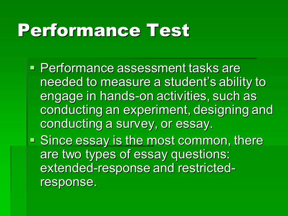 Classroom Test And Assessment Ppt Video Online Download