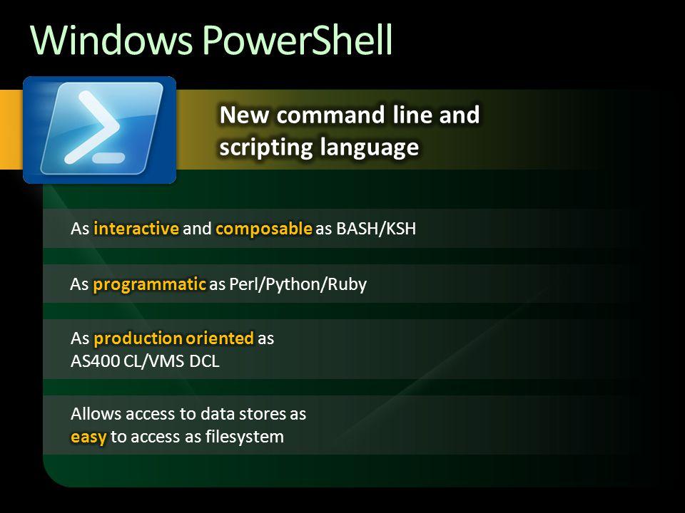 Using Windows Powershell On Windows Embedded Standard