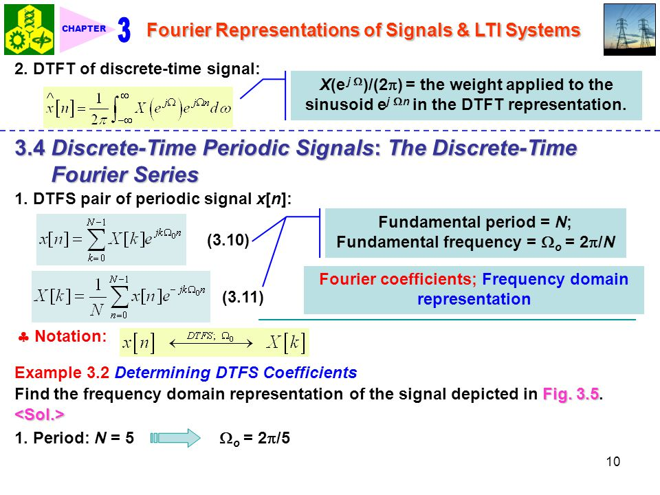 3 3.4 Discrete-Time Periodic Signals: The Discrete-Time Fourier Series