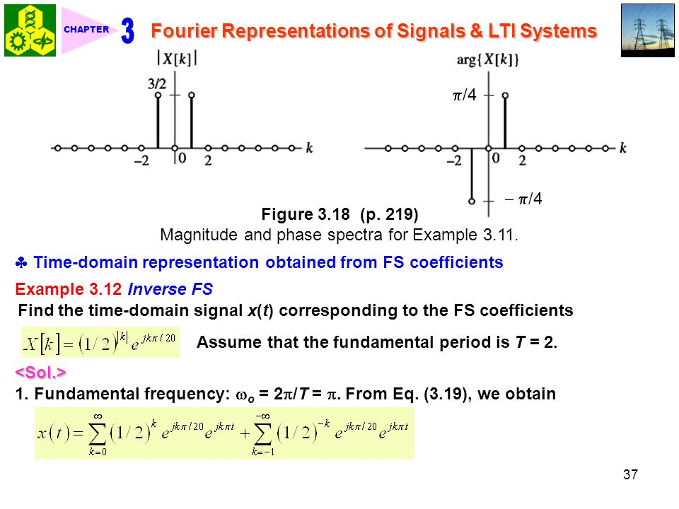 3 Fourier Representations of Signals & LTI Systems /4  /4