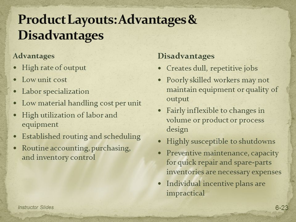 Process Selection and Facility Layout - ppt video online