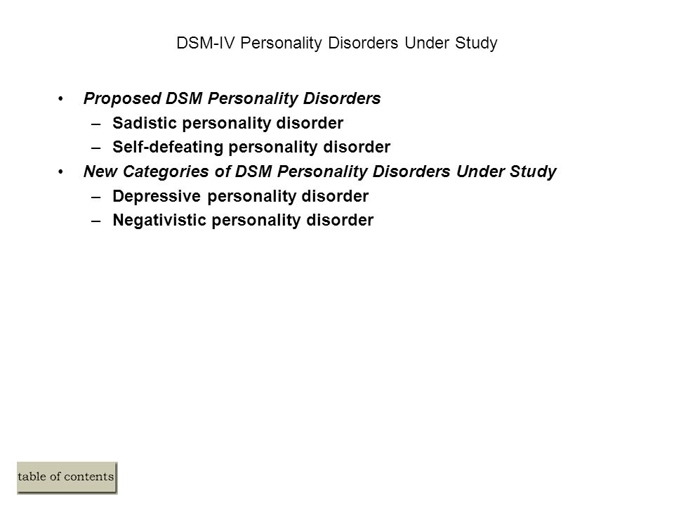 self defeating personality disorder pdf