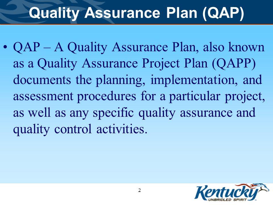 2 quality assurance