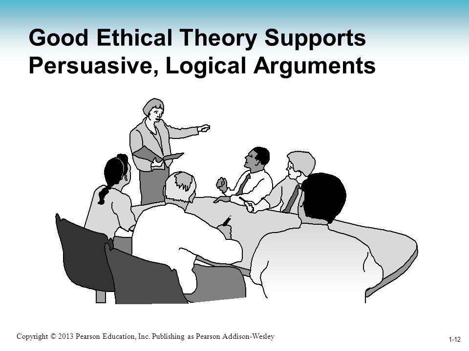 Good Ethical Theory Supports Persuasive, Logical Arguments