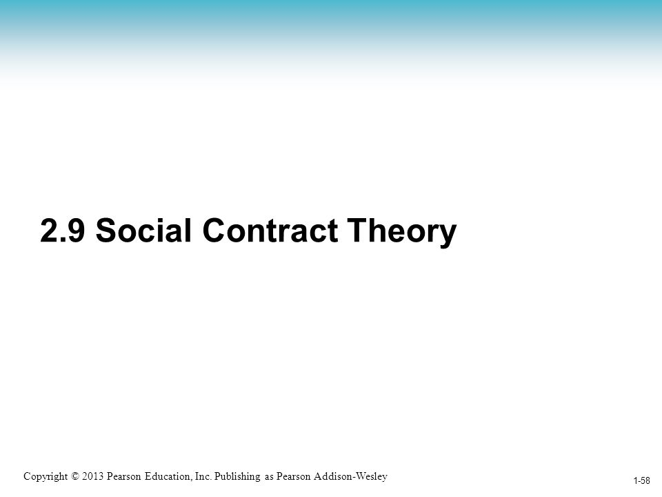 2.9 Social Contract Theory