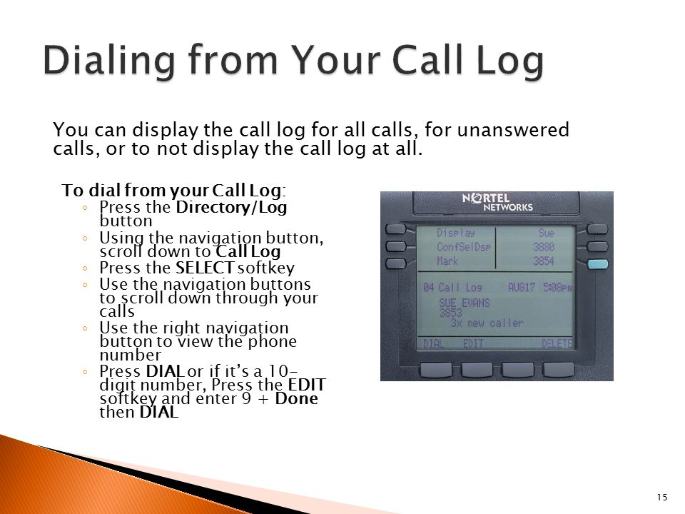 Telephone Training M3904 Telephone Set IT Support Center - ppt video