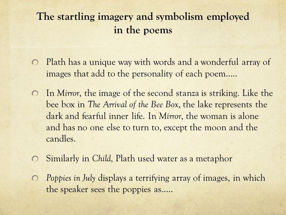 symbolism in mirror by sylvia plath