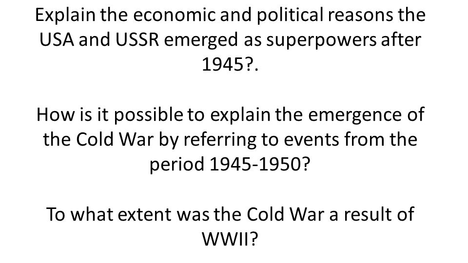 HOA Review Day 6: Cold War and Fall of USSR - ppt video