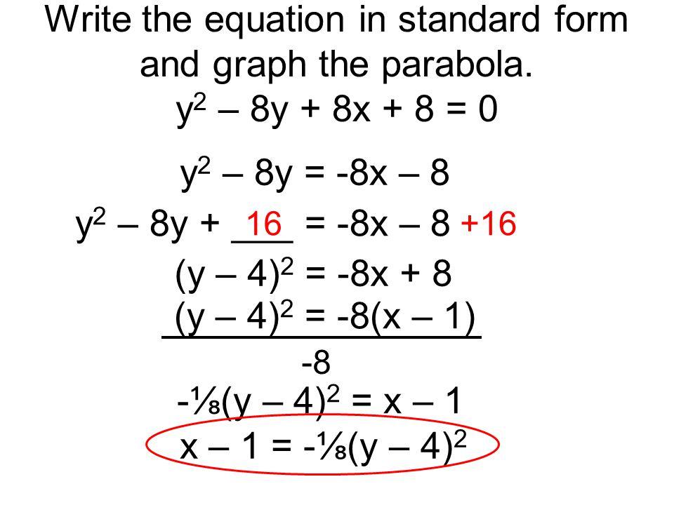 Parabolas Date Ppt Video Online Download