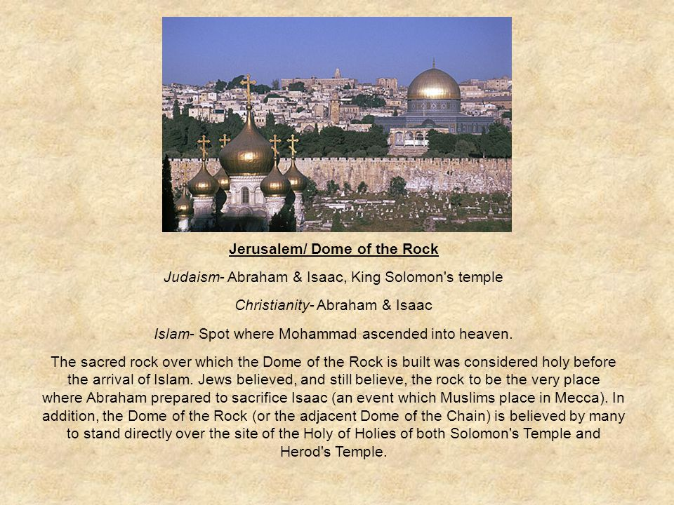 Jerusalem/ Dome of the Rock