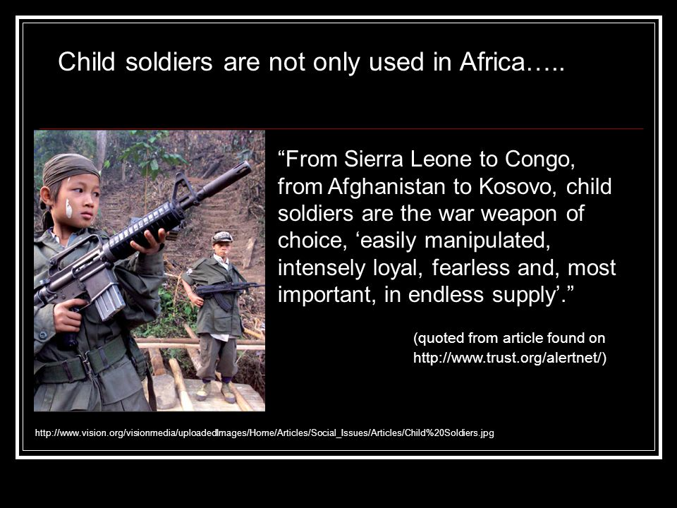 Quotes About Child Soldiers - Best Qoutes 2019