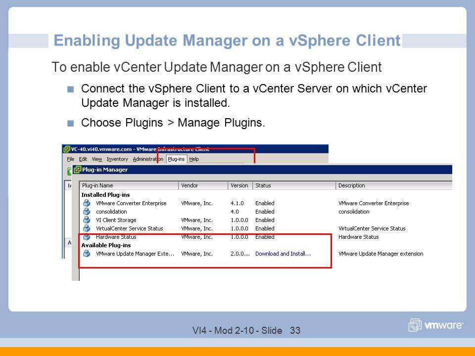 VMware vCenter Server Update Manager - ppt download