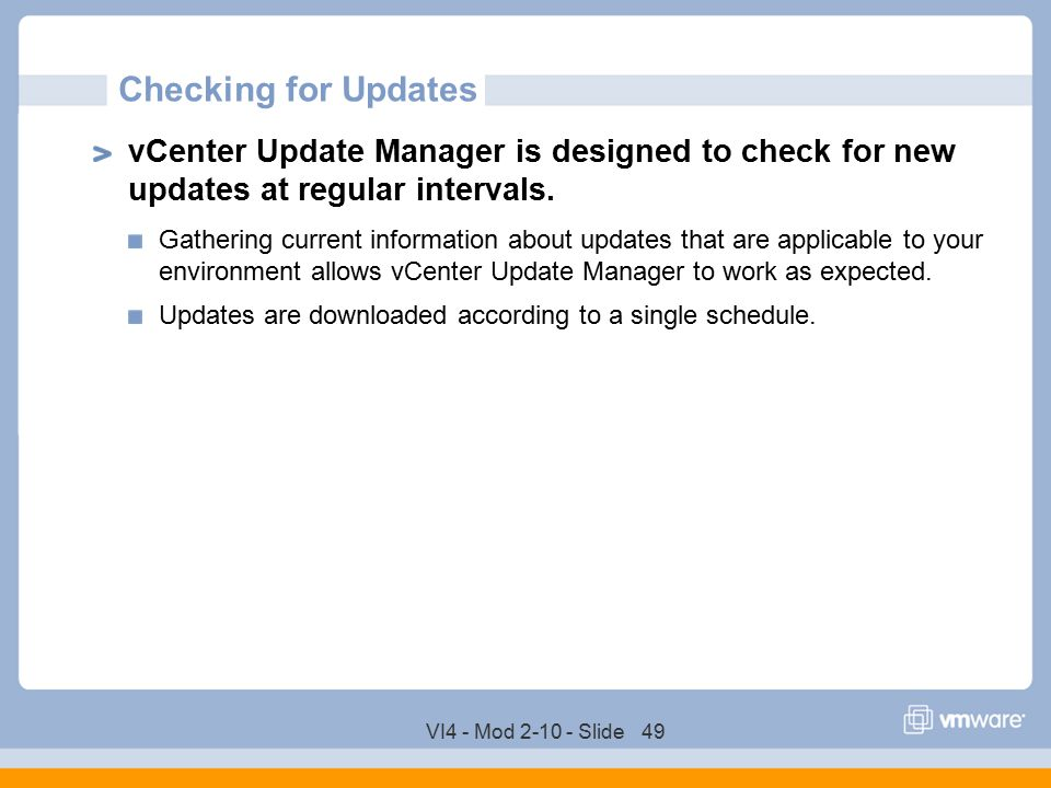 VMware vCenter Server Update Manager - ppt download