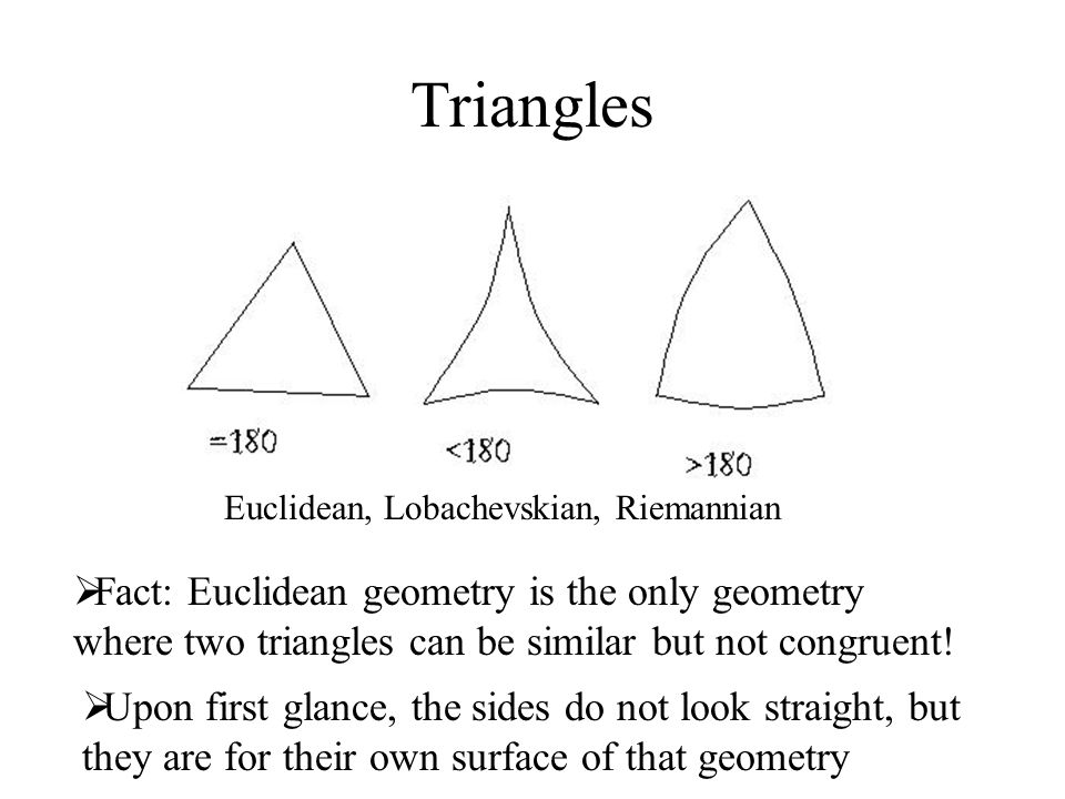 Non-Euclidean Geometries - ppt download