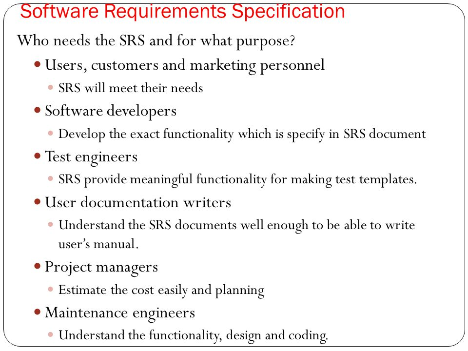 Requirement Engineering Ppt Download - Requirement documentation in software engineering