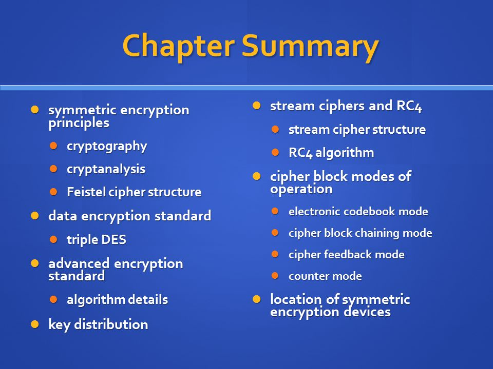 Symmetric Encryption and Message Confidentiality - ppt download