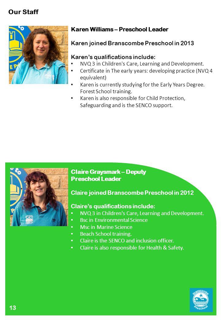 Branscombe Preschool Prospectus Ppt Download