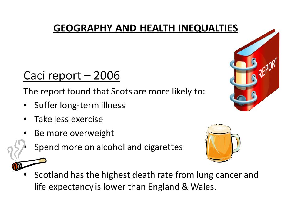 GEOGRAPHY AND HEALTH INEQUALTIES