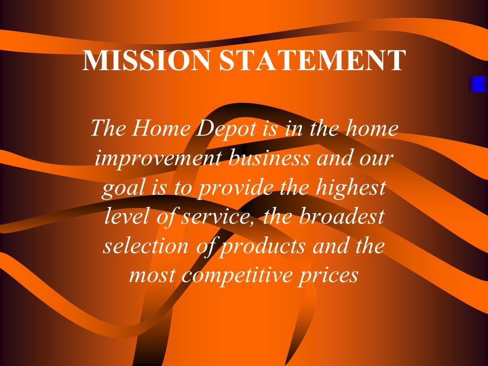 An Analysis Of The Home Depot Using Strategic Management Ppt Download