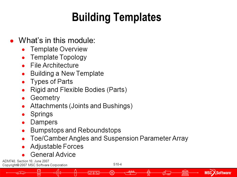 SECTION 10 BUILDING TEMPLATES  - ppt video online download