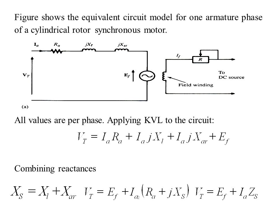 Single phase synchronous motor schematic circuit connection diagram equivalent circuit and power equation of synchronous motor ppt rh slideplayer com single phase synchronous motor wiring diagram electric motor diagram swarovskicordoba Image collections