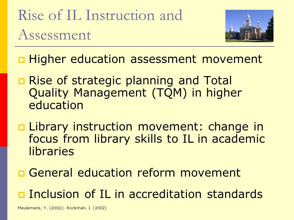 Rise of IL Instruction and Assessment