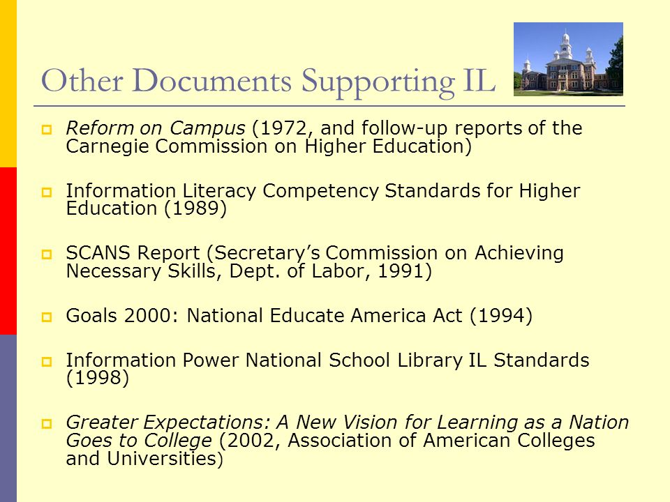 Other Documents Supporting IL