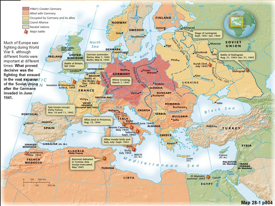 Chapter 28 the era of the second world war 1939 ppt download much of europe saw fighting during world war ii although different fronts were important at gumiabroncs Choice Image